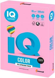 Бумага IQ Color Neon Pink розовый А4 80г/м2 500 листов (9003974411873)