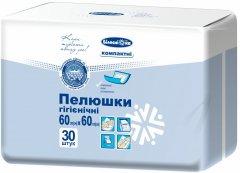 Пелюшки гігієнічні Білосніжка Компактні 60х60 см 30 шт. ((4820180243099)