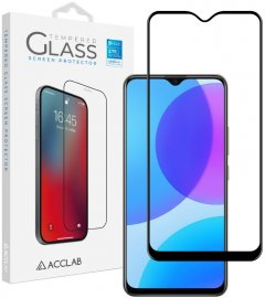 Защитное стекло ACCLAB Full Glue для Vivo Y11 2019 Black (1283126508998)