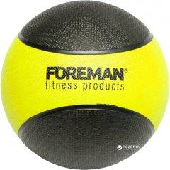 Медбол Foreman Medicine Ball 5 кг Black-Yellow (FMRMB5)
