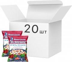 Упаковка каш Овсянушка 5 злаков с лесными ягодами 46 г х 20 шт (4820039841087)