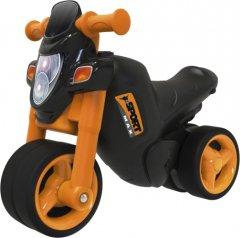 Мотоцикл для катания ребенка Big Спортивный стиль со звуковым эффектом с защитными насадками для обуви (56361)