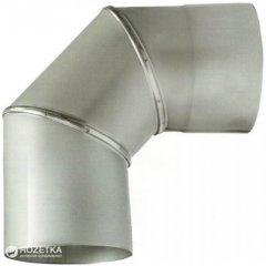 Дымоход Canada 90° ø150 мм нержавеющая сталь 1 мм (150КО90М304-1)