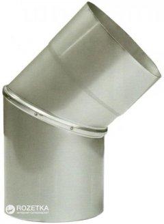 Дымоход Canada 45° ø150 мм нержавеющая сталь 1 мм (150КО45М304-1)