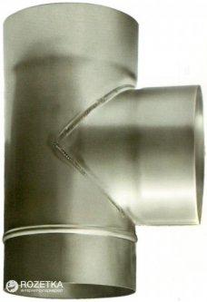 Дымоход Canada 87° ø120 мм нержавеющая сталь 0.6 мм (120ТК87М304-06)