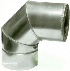 Дымоход Canada 90° с термоизоляцией ø180/250 мм оцинкованная нержавеющая сталь 0.6 мм (180/250КО90М304-06КО)