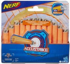 Комплект из 12 стрел для бластеров Hasbro Nerf Аккустрайк (C0162)