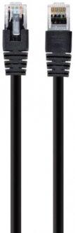 Патч корд Cablexpert CAT5e UTP 0.25 м Черный (PP12-0.25M/BK)