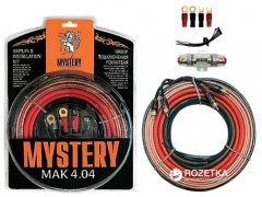 Комплект для 4-х канального усилителя Mystery MAK 4.04