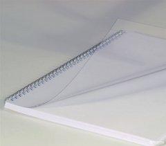 """Обложка для брошюрования пластиковая bindMARK Кристал A4 200 мкм """"прозрачая"""" 100 шт Прозрачная (20000401920)"""