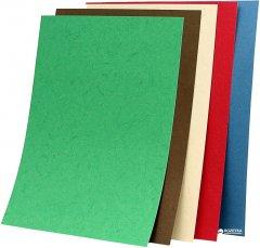 """Обложка для брошюрования картонная bindMARK Кантри A4 230 мкм """"под кожу"""" 100 шт Ассорти (20000417290)"""