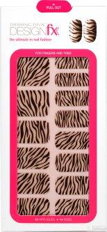 Стикеры для ногтей Dashing Diva Design FX Impressions Naughty by nature 42 шт (096100086785)