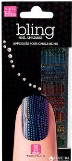 Стикеры для ногтей Dashing Diva Nail Bliss Bling Nail Jazz Hands 18 шт (096100086976)