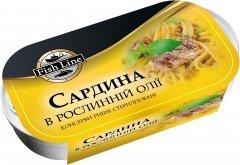 Сардина в растительном масле Fish Line 125 г (3760204210816)