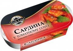 Сардина в томатном соусе Fish Line 125 г (3760204210847)