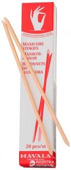 Палочки для маникюра деревянные Mavala Manicure Sticks 20 шт (7618900906525)