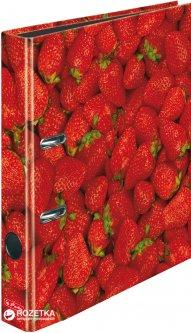 Папка-регистратор Herlitz maX.file World of Fruit Strawberry А4 50 мм Разноцветная (11288842)