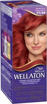 Крем-краска для волос Wella Wellaton интенсивная 77/44 Красный вулкан 110 мл (4056800899821)