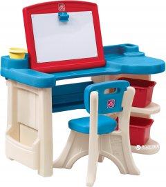Детский стол со стулом для творчества Step 2 Art Desk Refresh (733538843190)