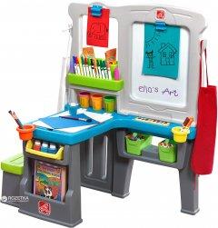 Детский центр со столом и доской для творчества Step 2 Great Creations Art Center (733538869893)