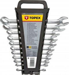 Набор ключей комбинированных TOPEX 6-22 мм 12 шт CrV (35D757)