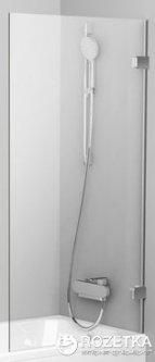 Шторка для ванны RAVAK BVS1-80 хром Transp 7U840A00Z1