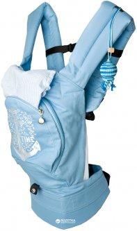 Эрго рюкзак-переноска Модный карапуз My baby 03-00736 Якорь Голубой (4822350273608)