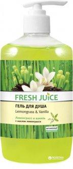 Крем-гель для душа Fresh Juice Lemongrass & Vanilla 750 мл (4823015936135)