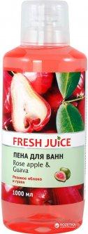 Пена для ванн Fresh Juice Rose apple & Guava 1000 мл (4823015936333)