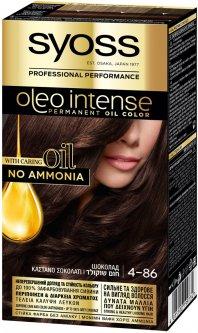 Краска для волос SYOSS Oleo Intense 4-86 Шоколад 115 мл (4015100199734)