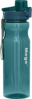 Фляга для воды Mega Tritan 0.9 л Blue (0717040678037 blue)
