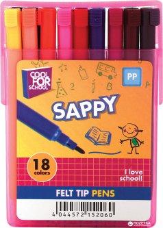 Фломастеры Cool For School 18 цветов 18 шт (CF15206)