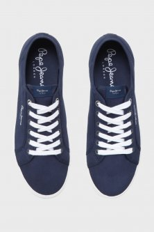 Чоловічі сині сникеры Pepe Jeans 41 PMS30352