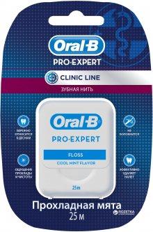 Зубная нить Oral-B Pro-Expert Clinic Line Прохладная мята 25 м (5410076635078)