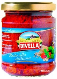 Соус Divella Pesto Alla Siciliana 190 г (8005121211078)