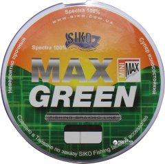 Шнур Siko Max Spectra 100% 135 м 0.1 мм 5.4 кг Зеленый (MXG410)