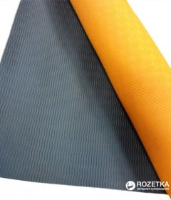 Коврик для йоги LiveUp TPE Yoga Mat Orange (LS3237-04o)