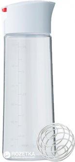Универсальный шейкер для приготовления заправки к салату BlenderBottle Whiskware Dressing Белый (Dressing)