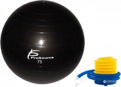 Гимнастический мяч ProSource Stability Exercise Ball 75 см Черный (PS-2207-sfb-75)