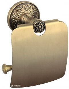 Держатель для туалетной бумаги AQUA RODOS Милано закрытый 9626 бронза