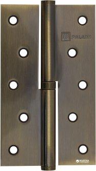 Петля дверная Paladii 125x75 мм левая 2 шт Бронзовая (ПП051)