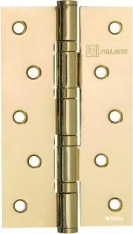 Петля дверная Paladii 125x75 мм универсальная 2 шт Желтая (ПП069)