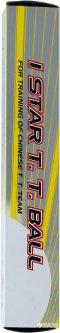 Мячи для настольного тенниса DHS 1* 6 шт белые (СН001-01)