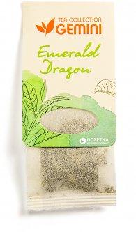 Чай Зеленый пакетированный Gemini Tea Collection Emerald Dragon 15 пакетиков (4820156430195)