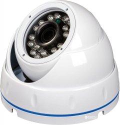 AHD купольная антивандальная видеокамера Green Vision GV-065-GHD-G-DOS20-20 1080P (LP5000)