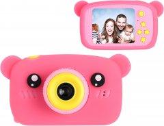 Цифровой детский фотоаппарат XoKo KVR-005 Bear Розовый (KVR-005-PN) (9869201149823)