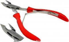 Кусачки маникюрные заусеничные Zauber-manicure с резиновой ручкой 02-287 (4004904022874)