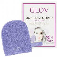 Рукавичка для снятия макияжа Glov Expert Oily and Mixed Skin Сиреневая (5902768711080)