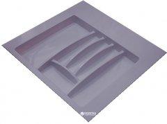 Лоток для столовых приборов Hafele пластиковый 600 мм Серый (556.46.507)