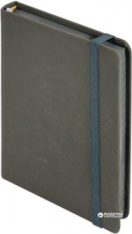 Ежедневник недатированный Buromax Touch Me А6 из искусственной кожи на 288 страниц Серый (BM.2614-09)